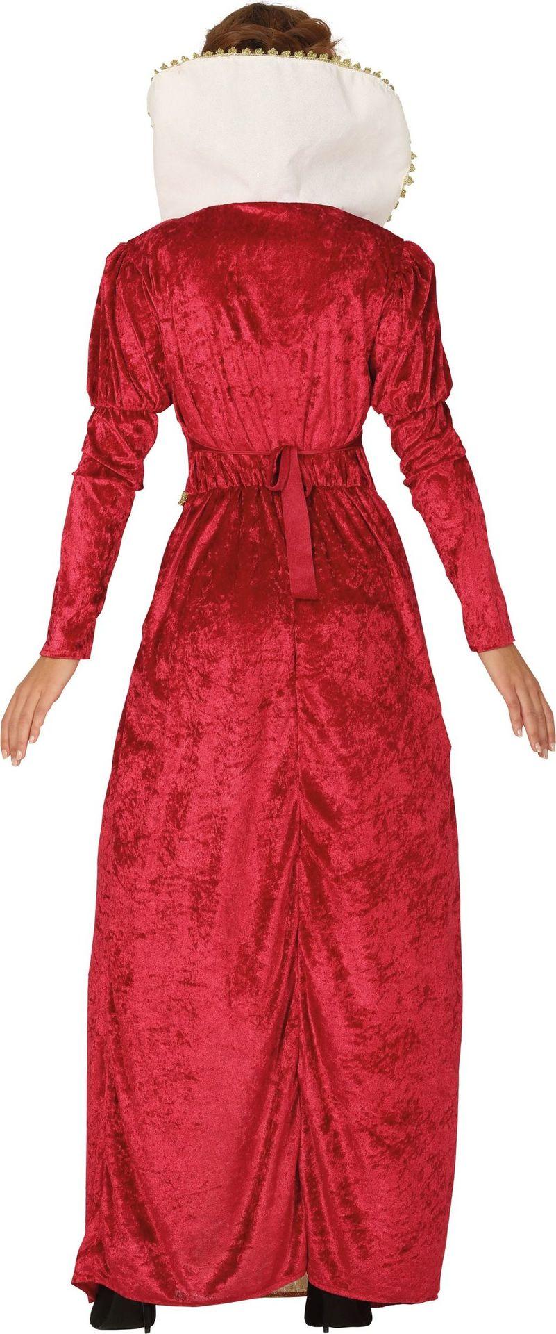 lekker goedkoop nieuwe high online te koop Lange rode jurk koningin vrouwen