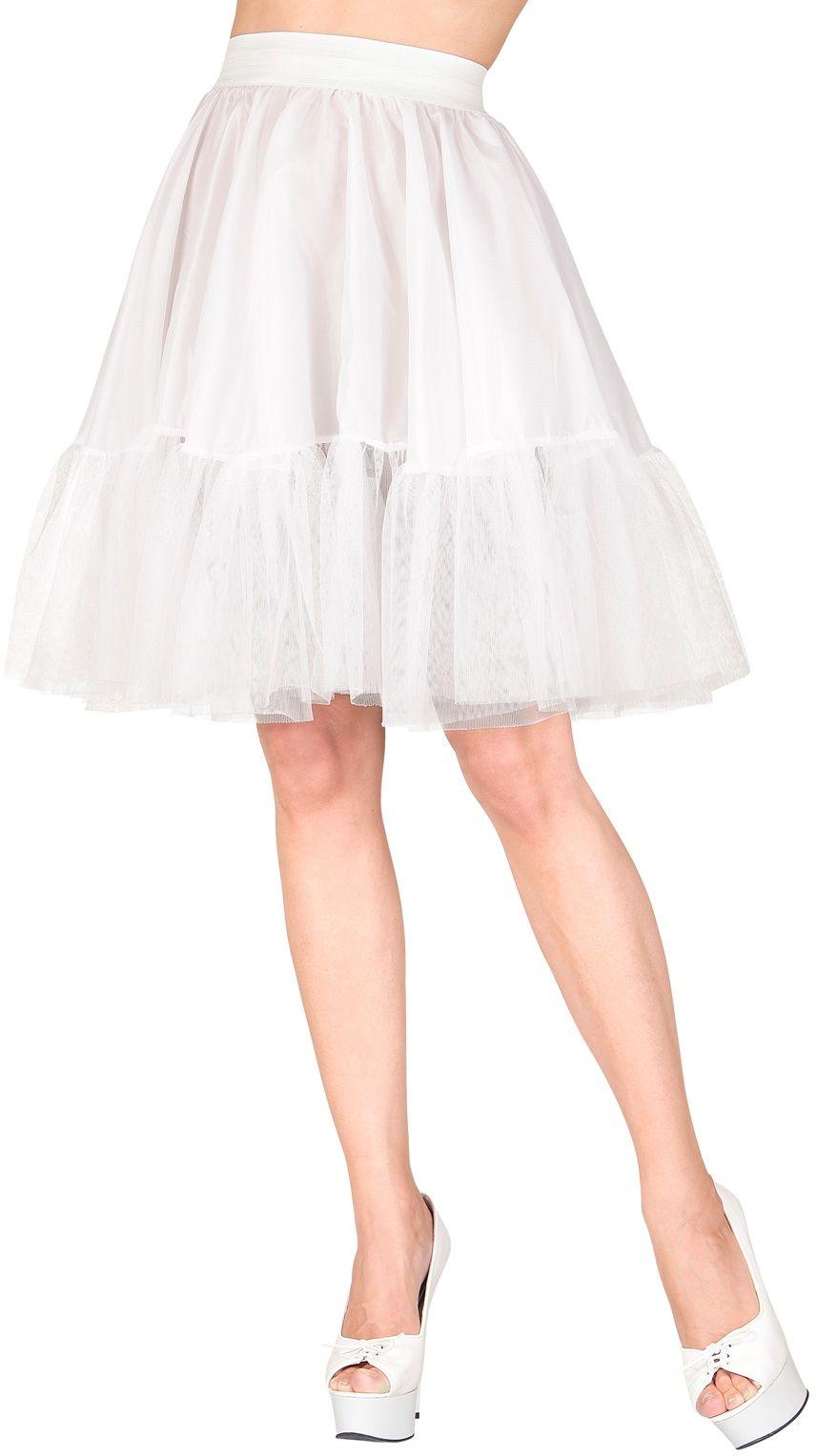 Lange witte rok