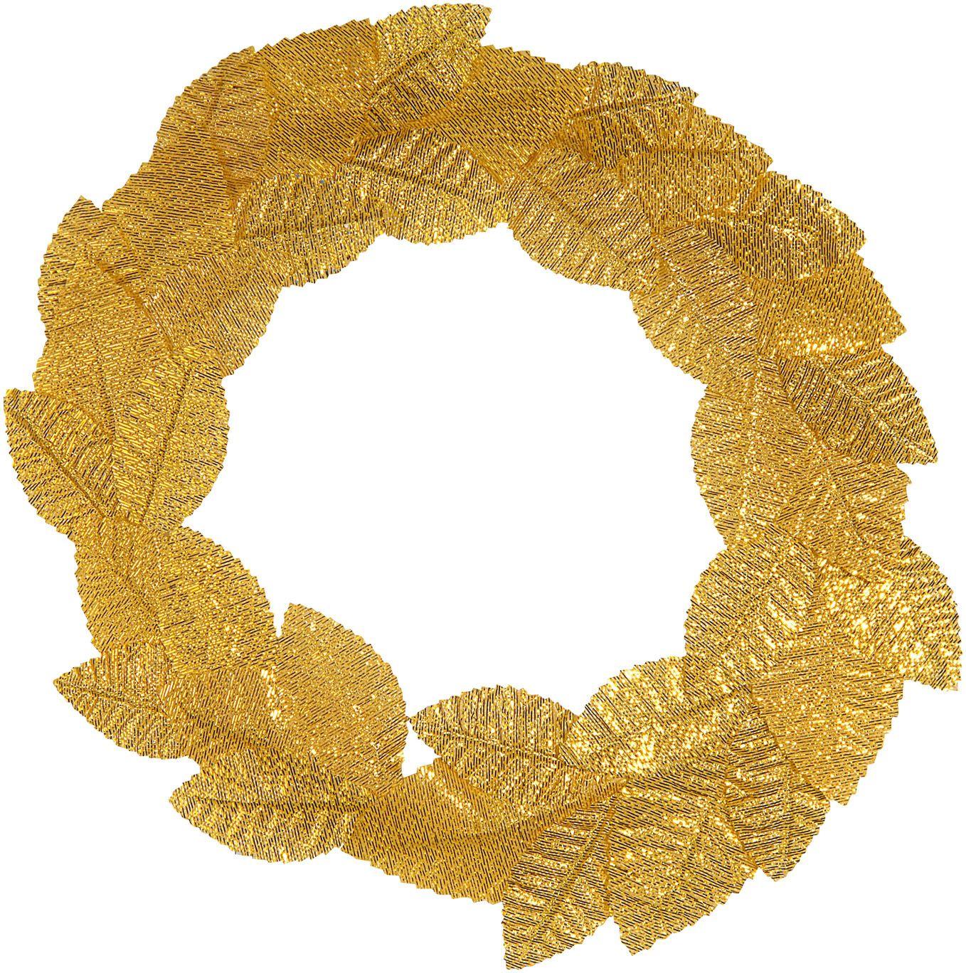 Laurierblad hoofdkrans goud