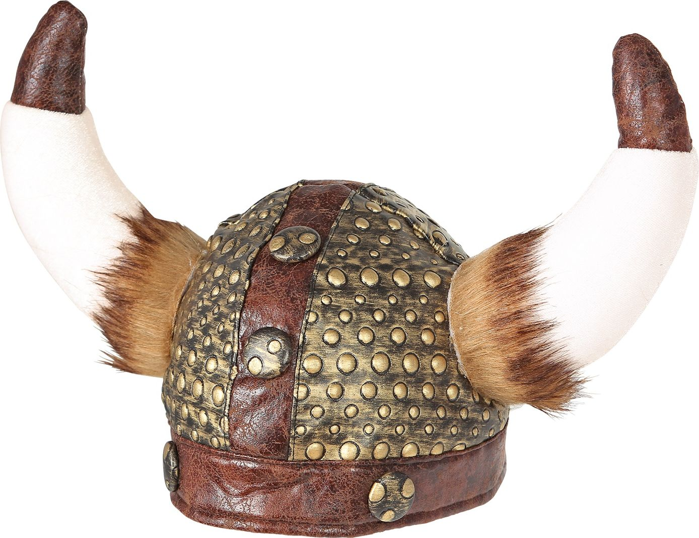 Lederlook Viking helm