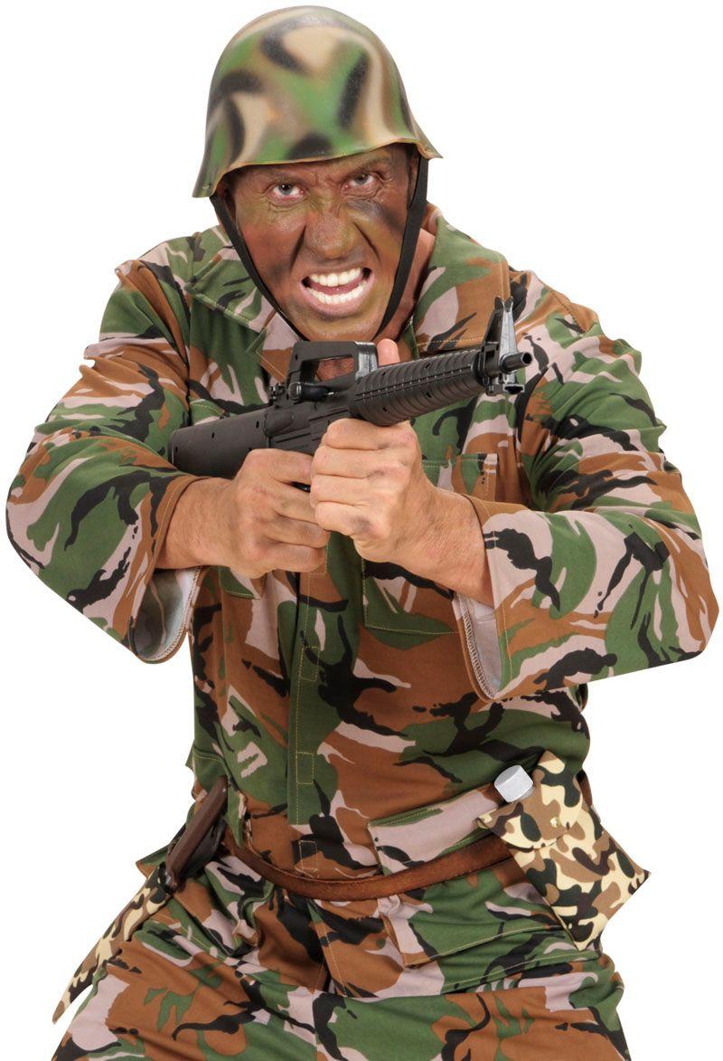 Leger drinkbidon met camouflage