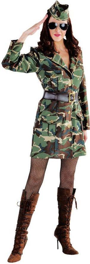 Leger GI Jean kostuum vrouwen