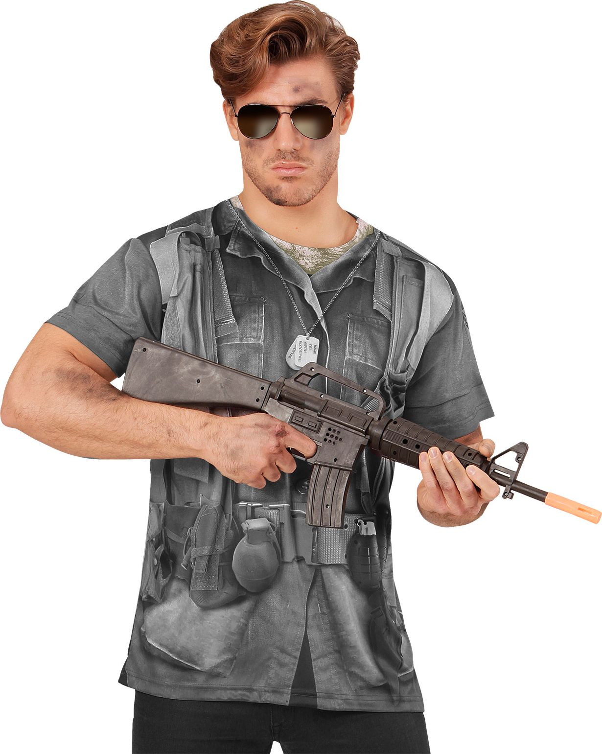 Leger soldaat t-shirt