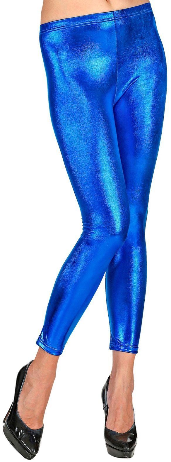 Legging dames blauw