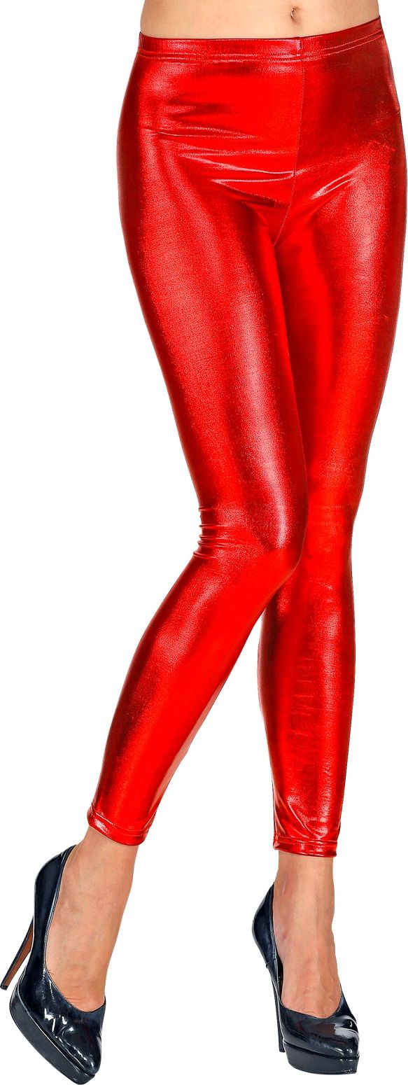 Legging dames rood