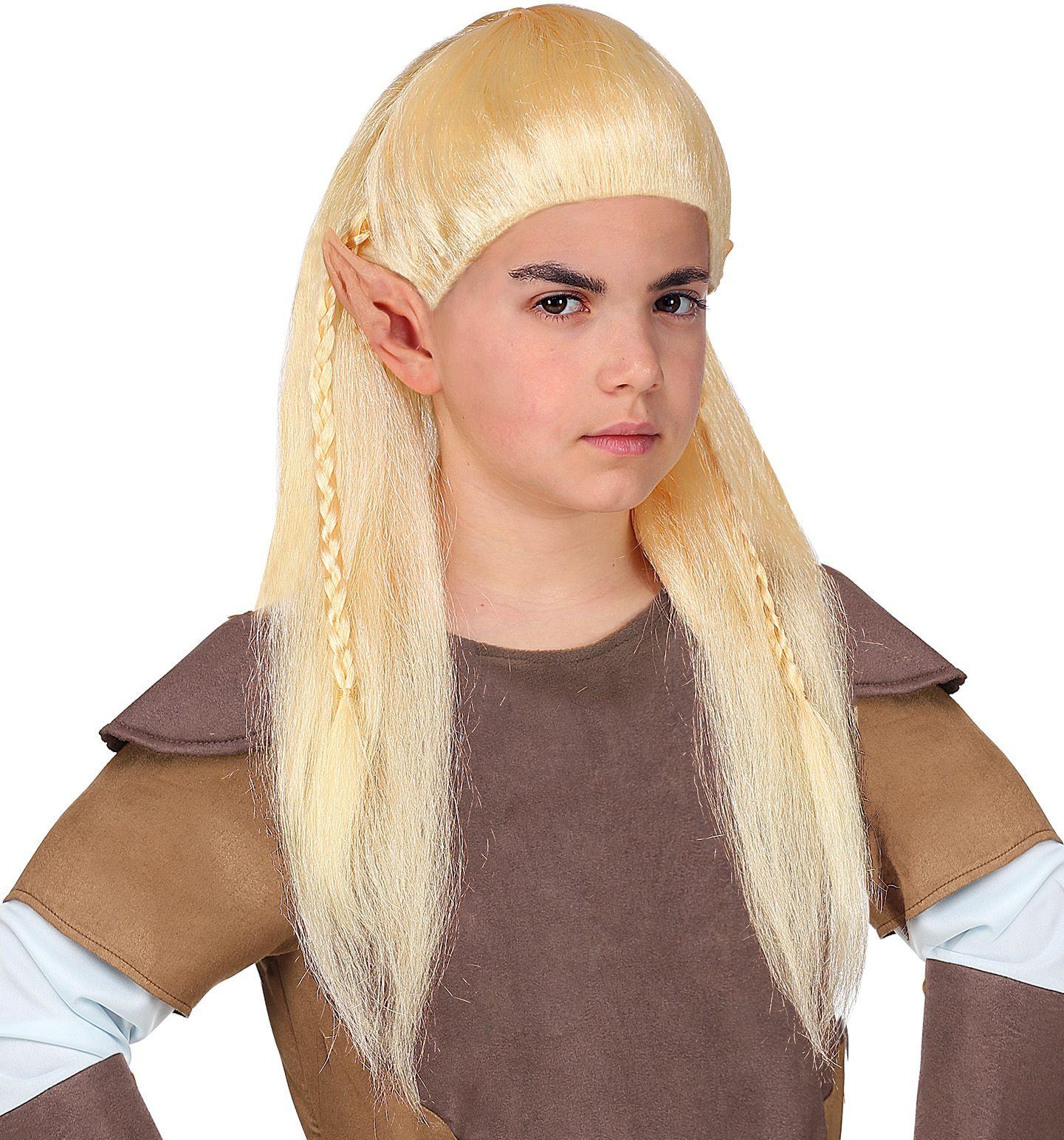Legolas elven pruik kinderen