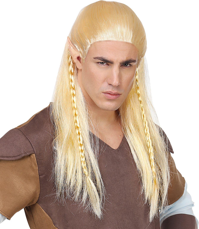 Legolas elven pruik man