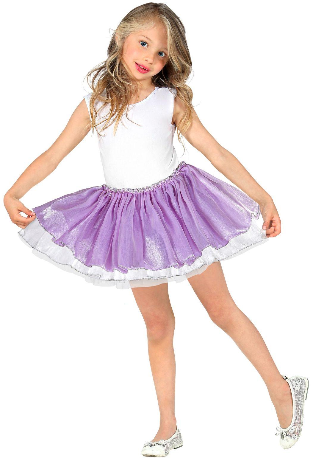 Licht paarse ballerina rokje