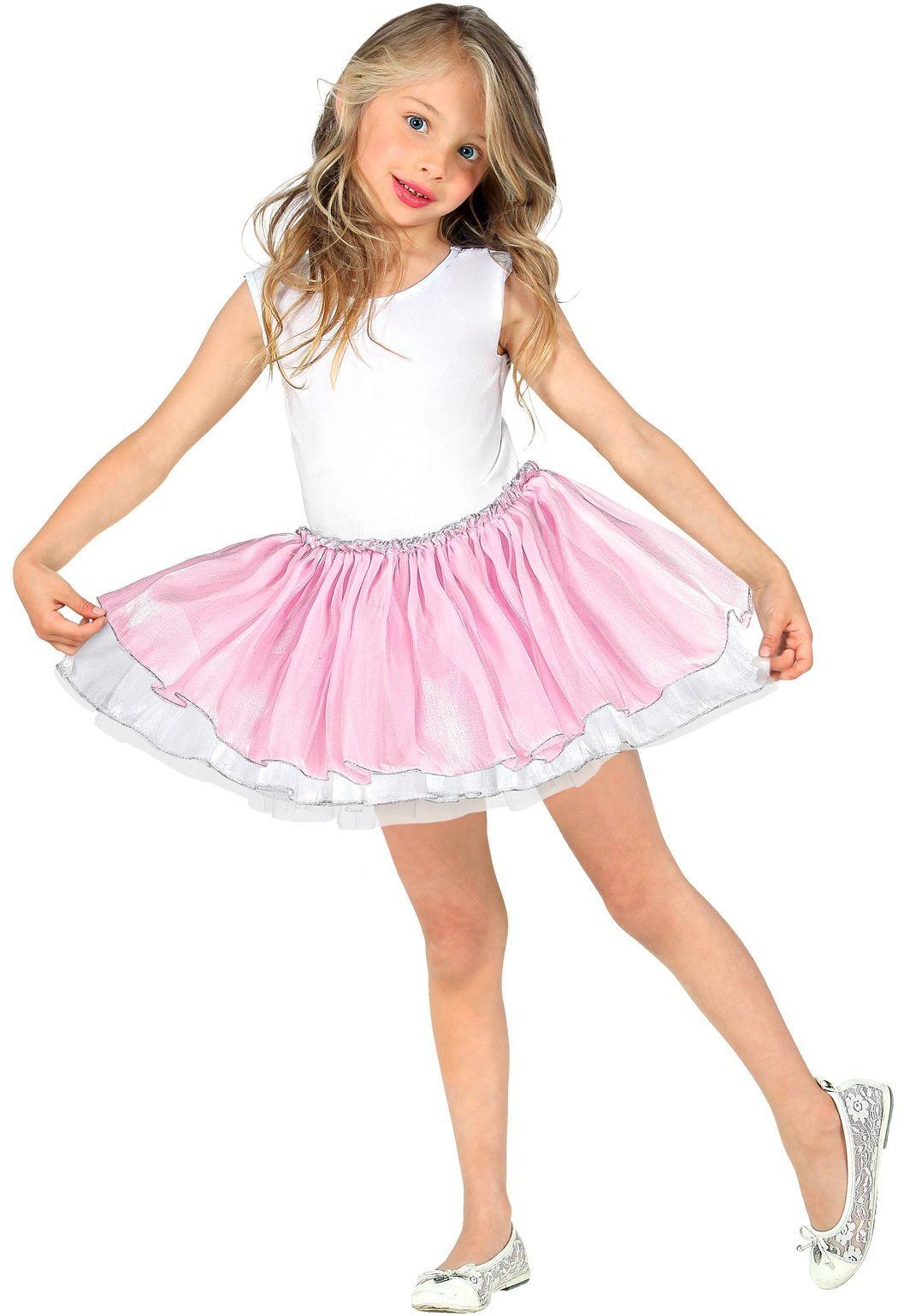 Licht roze ballerina rokje