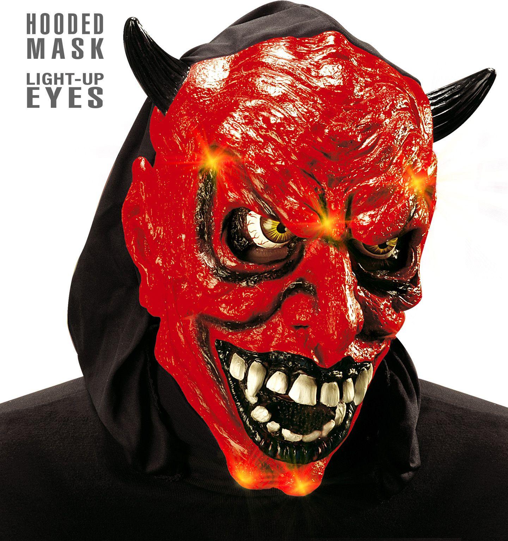 Lichtgevend duivel masker