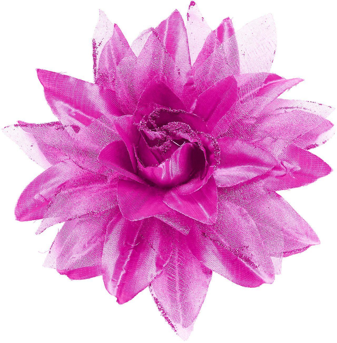 Lichtpaarse bloem haarspeld