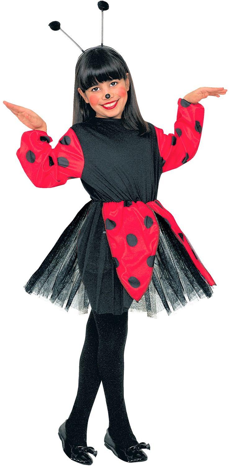 Lieveheersbeestje jurk kind
