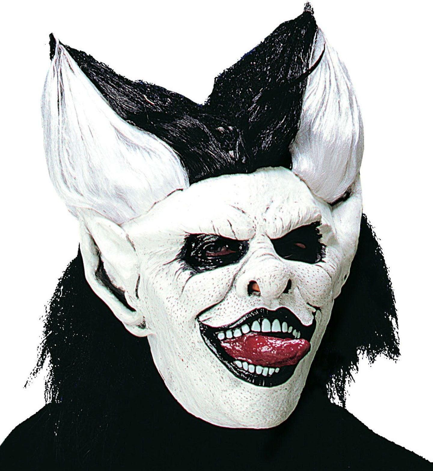 Likker masker met pruik