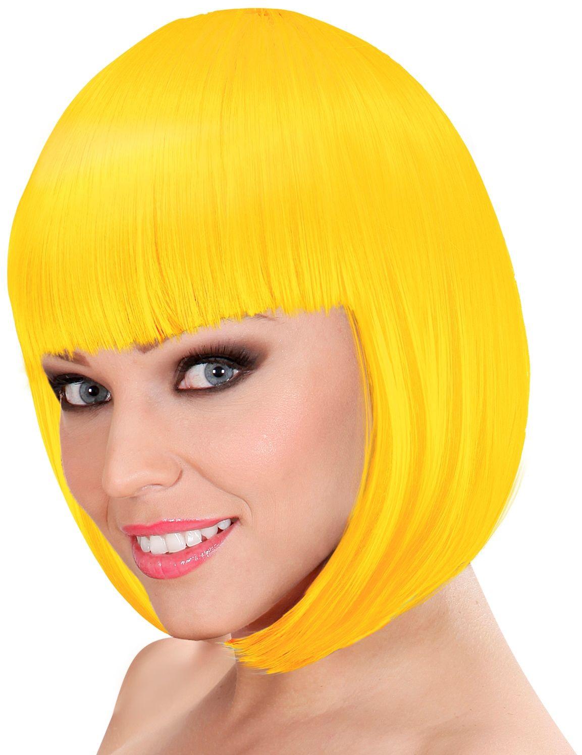 Lou Lou pruik geel