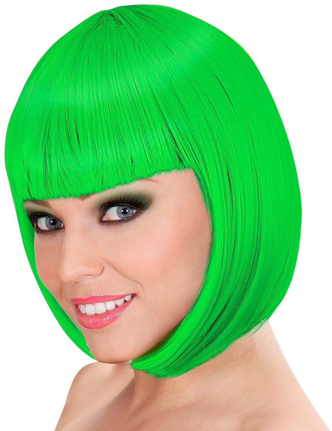 Lou Lou pruik groen