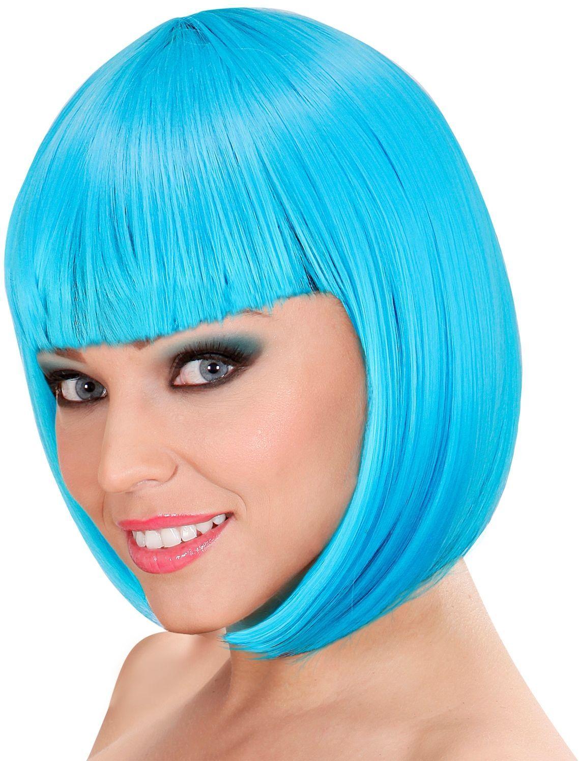 Lou Lou pruik licht blauw