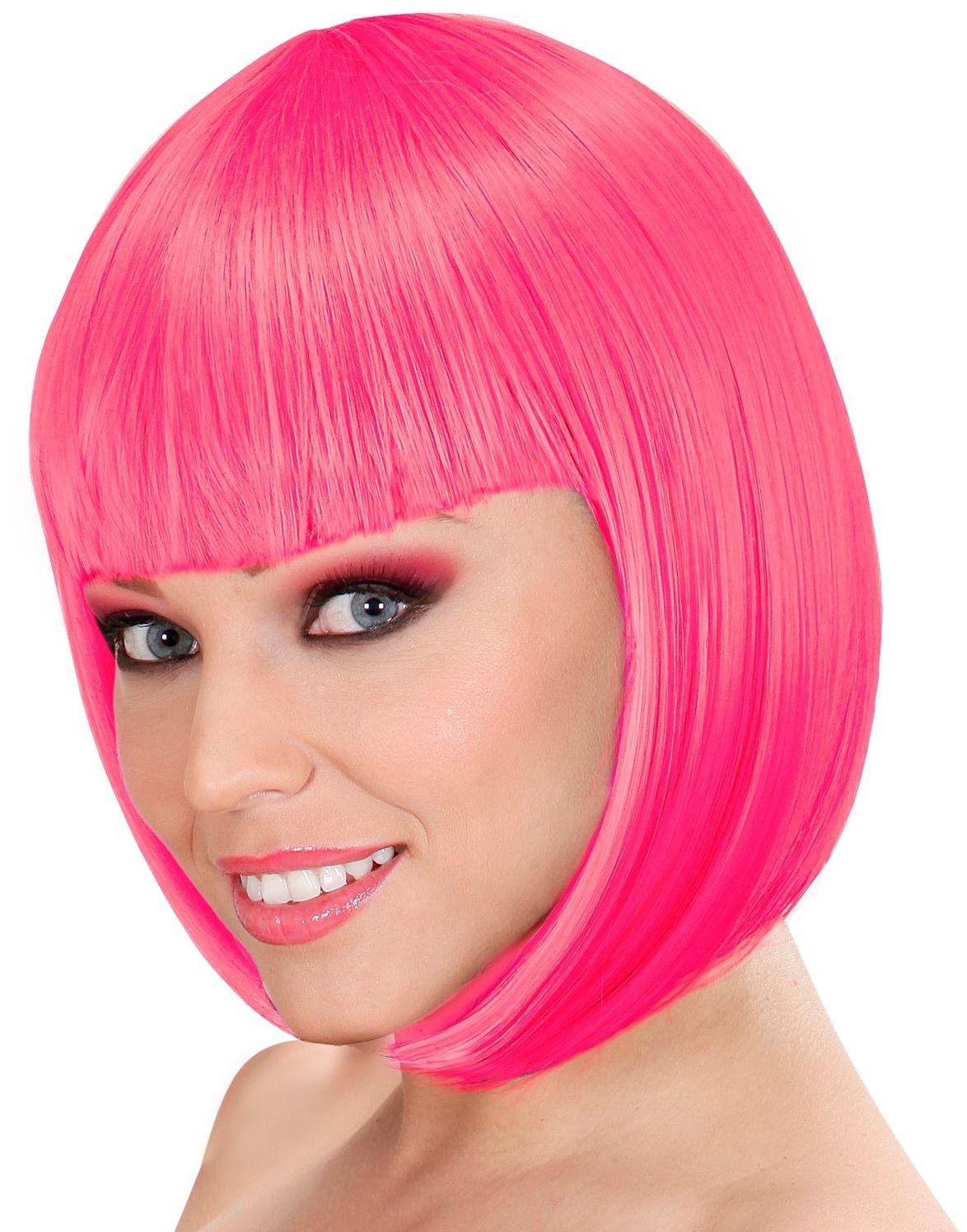 Lou Lou pruik roze