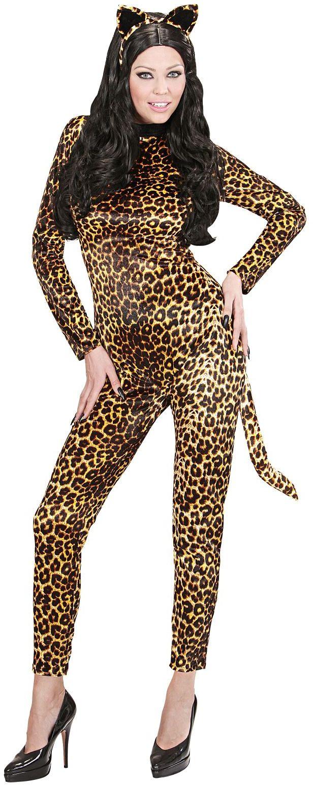 Luipaard kostuum dames