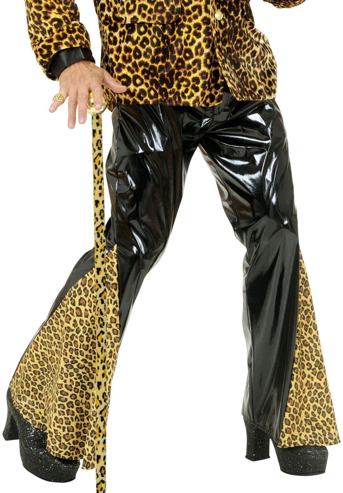 Luipaard print broek