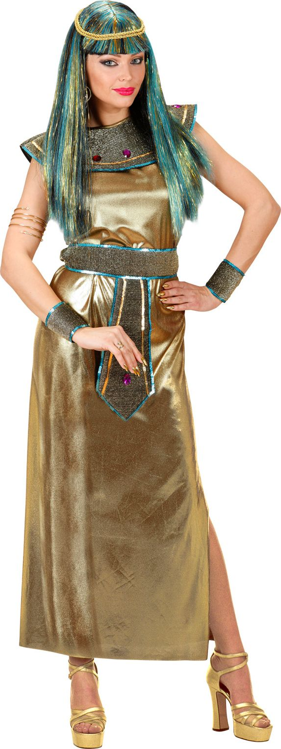 Luxe cleopatra jurk goud