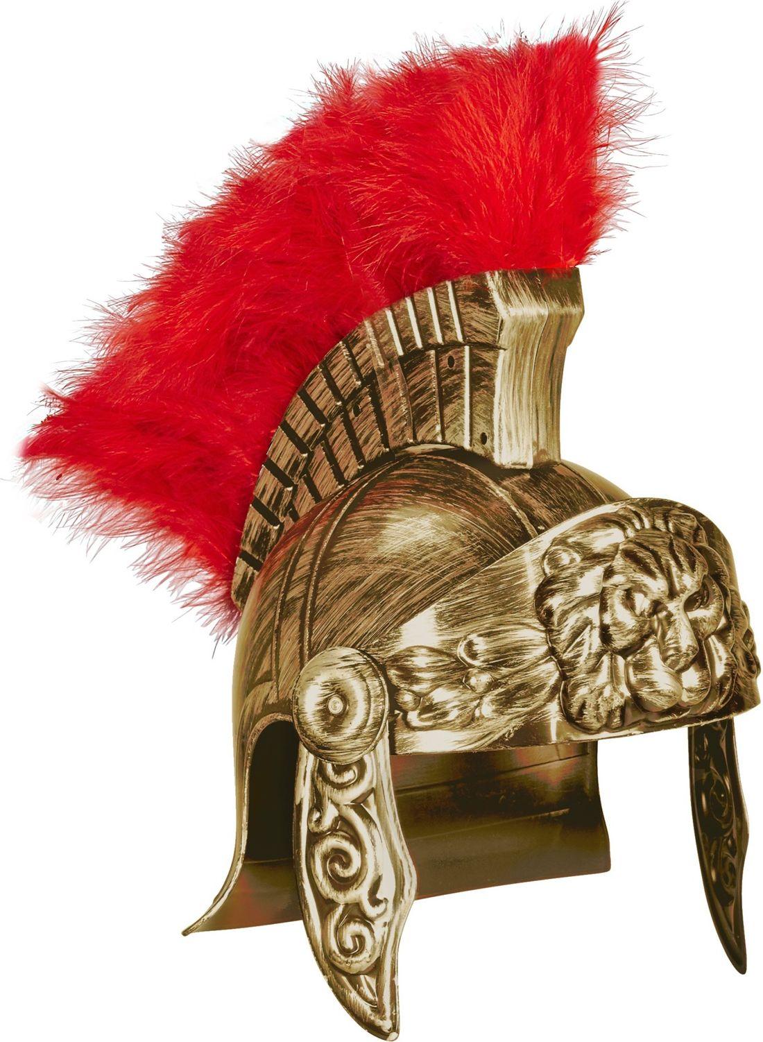 Luxe gouden centurion helm