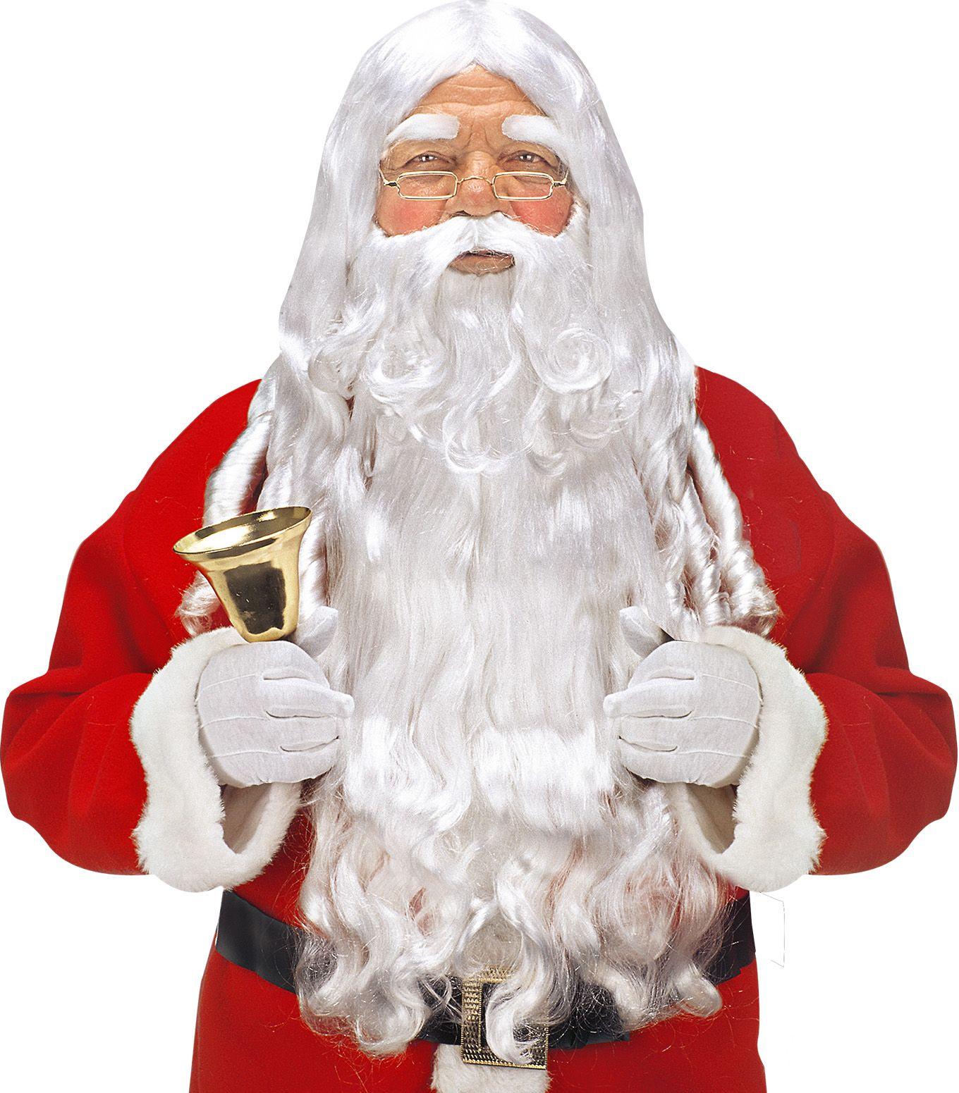 Luxe kerstman accessoire set