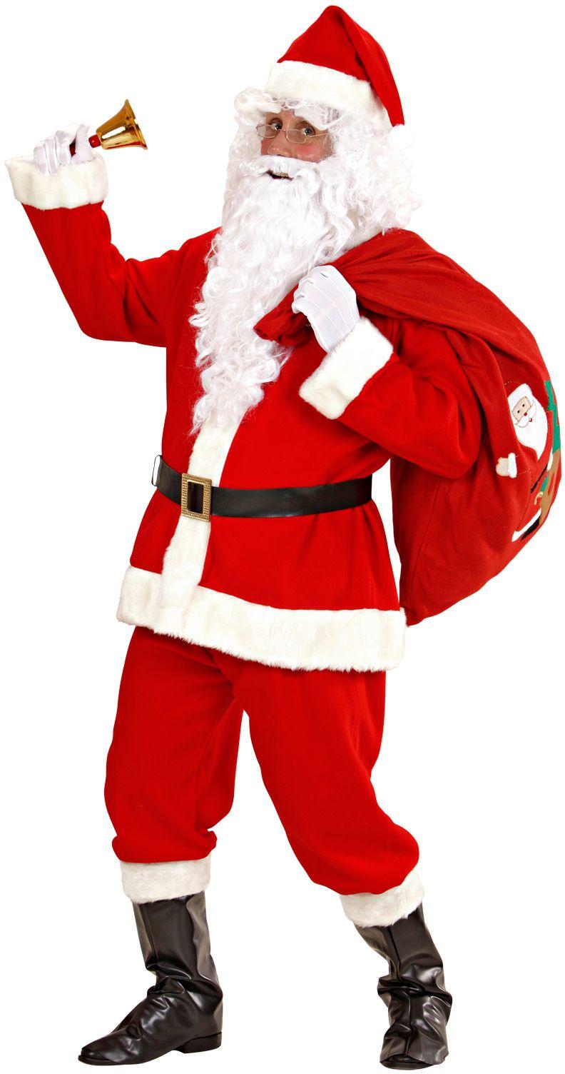 Luxe kerstmannenpak