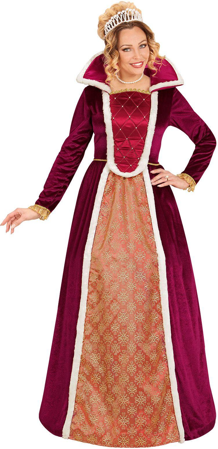 Luxe koningin jurk