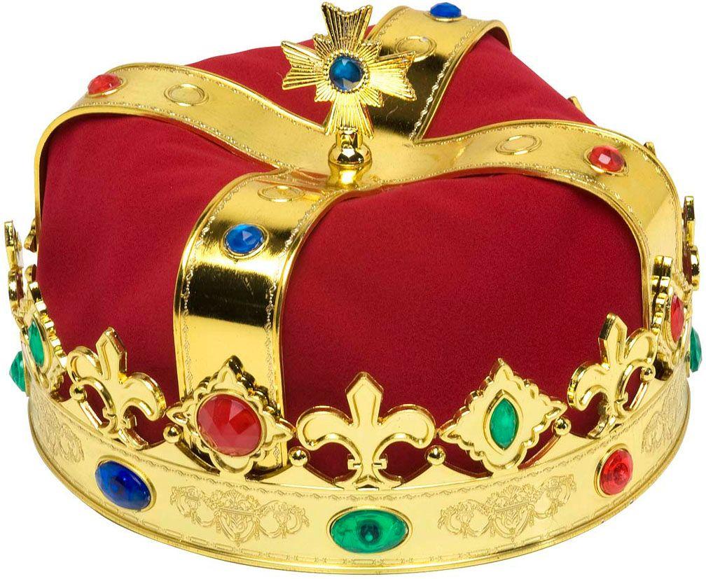 Luxe koningskroon