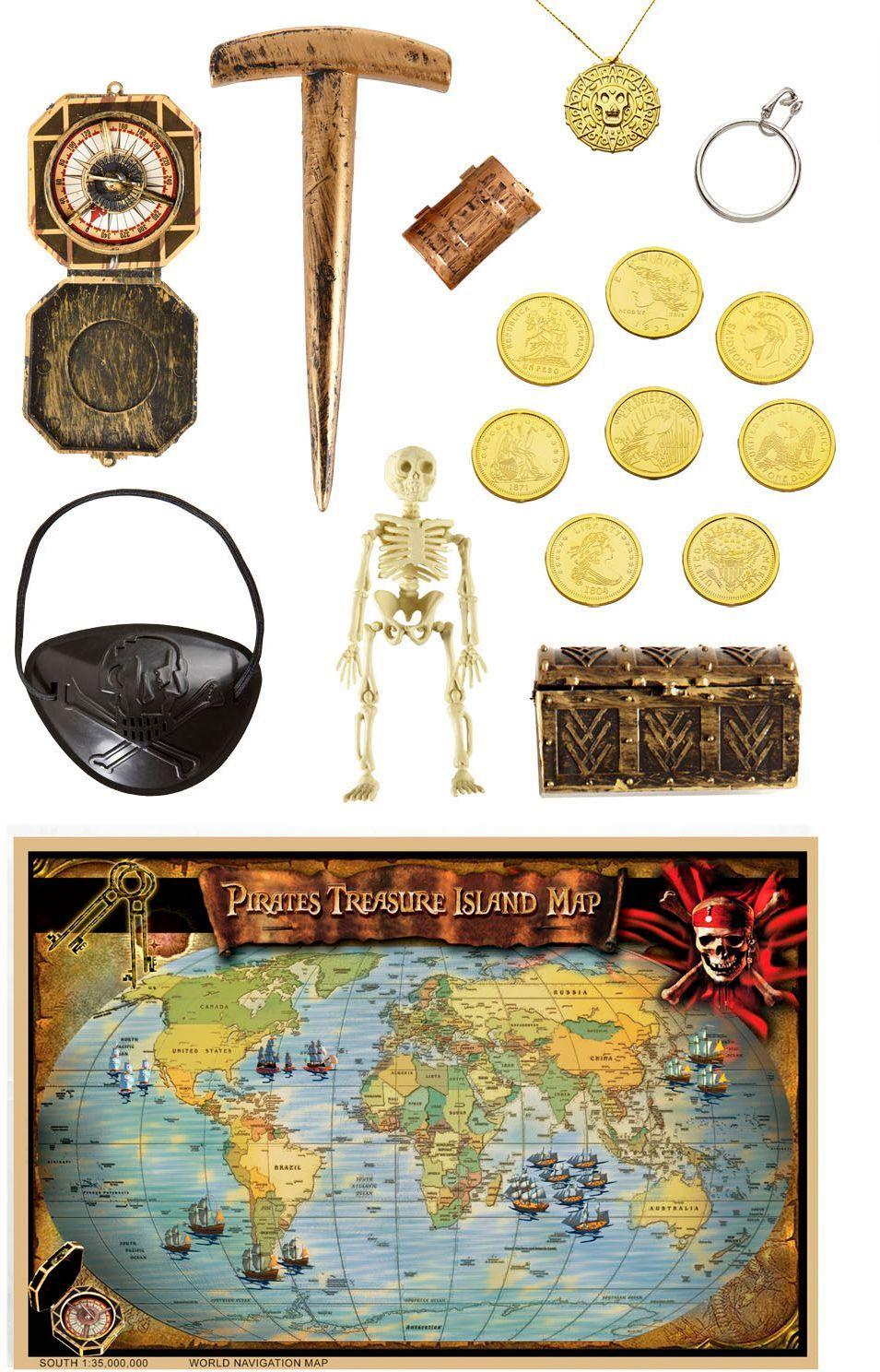 Luxe piraat accessoires set kind