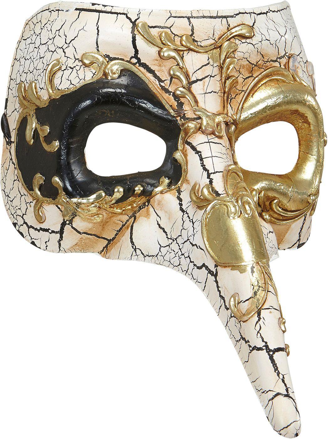 Luxe venetiaans nasone masker