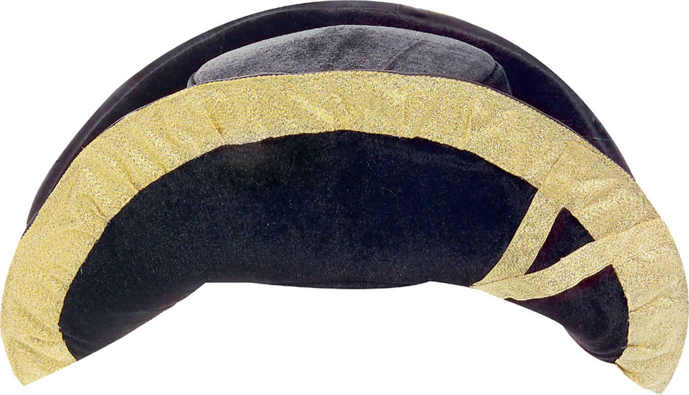 Luxe zwarte Napoleon hoed