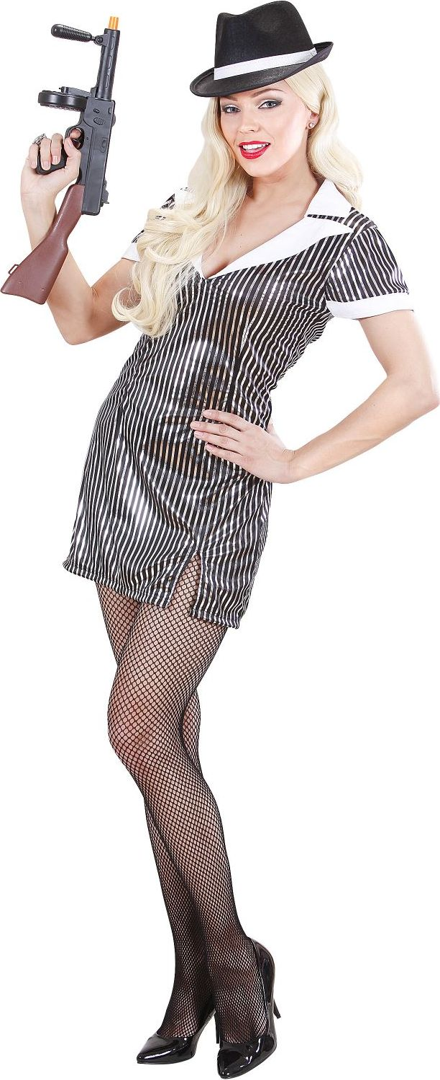 Maffia kleding vrouw