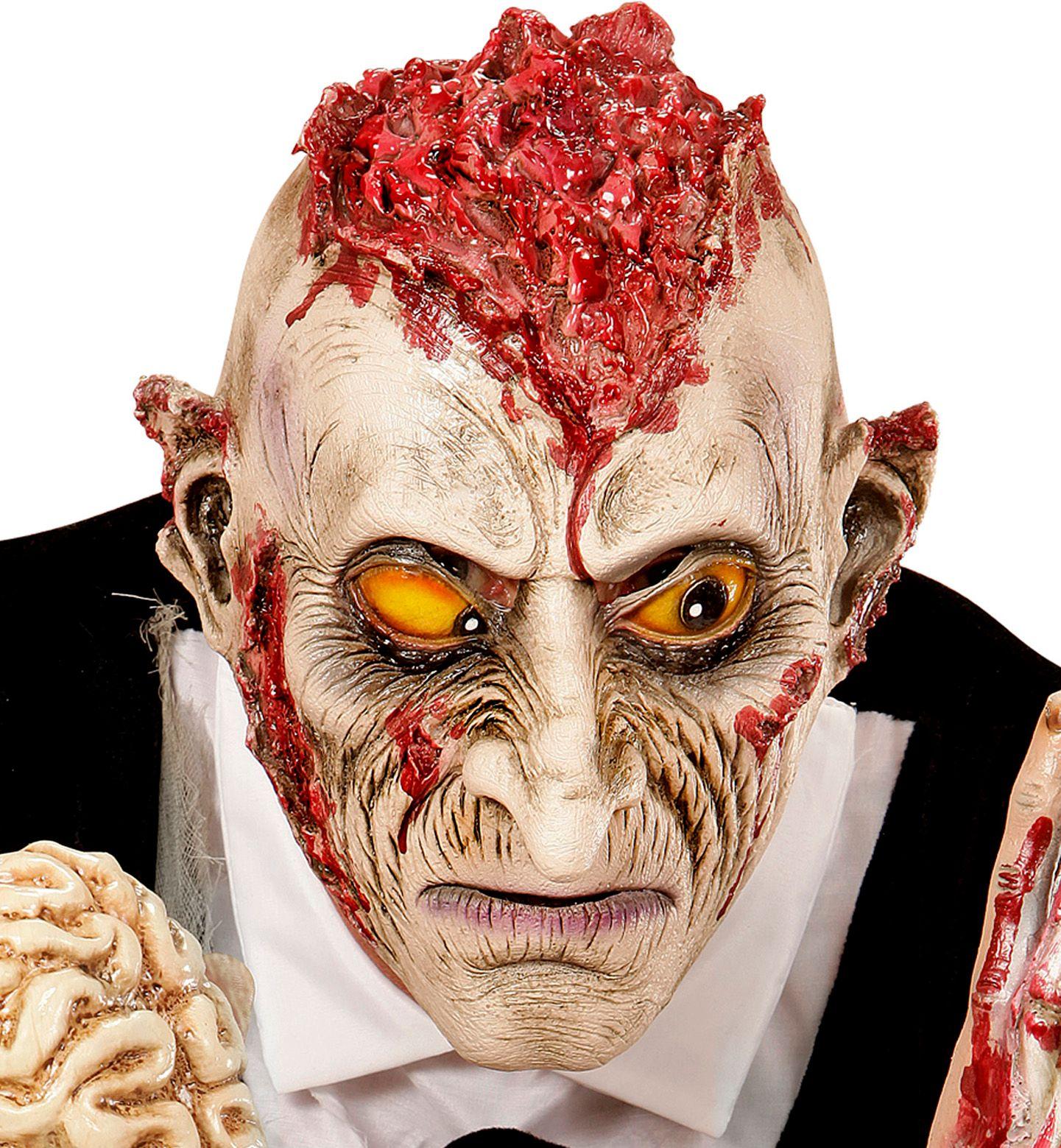 Maniak zombie masker kind