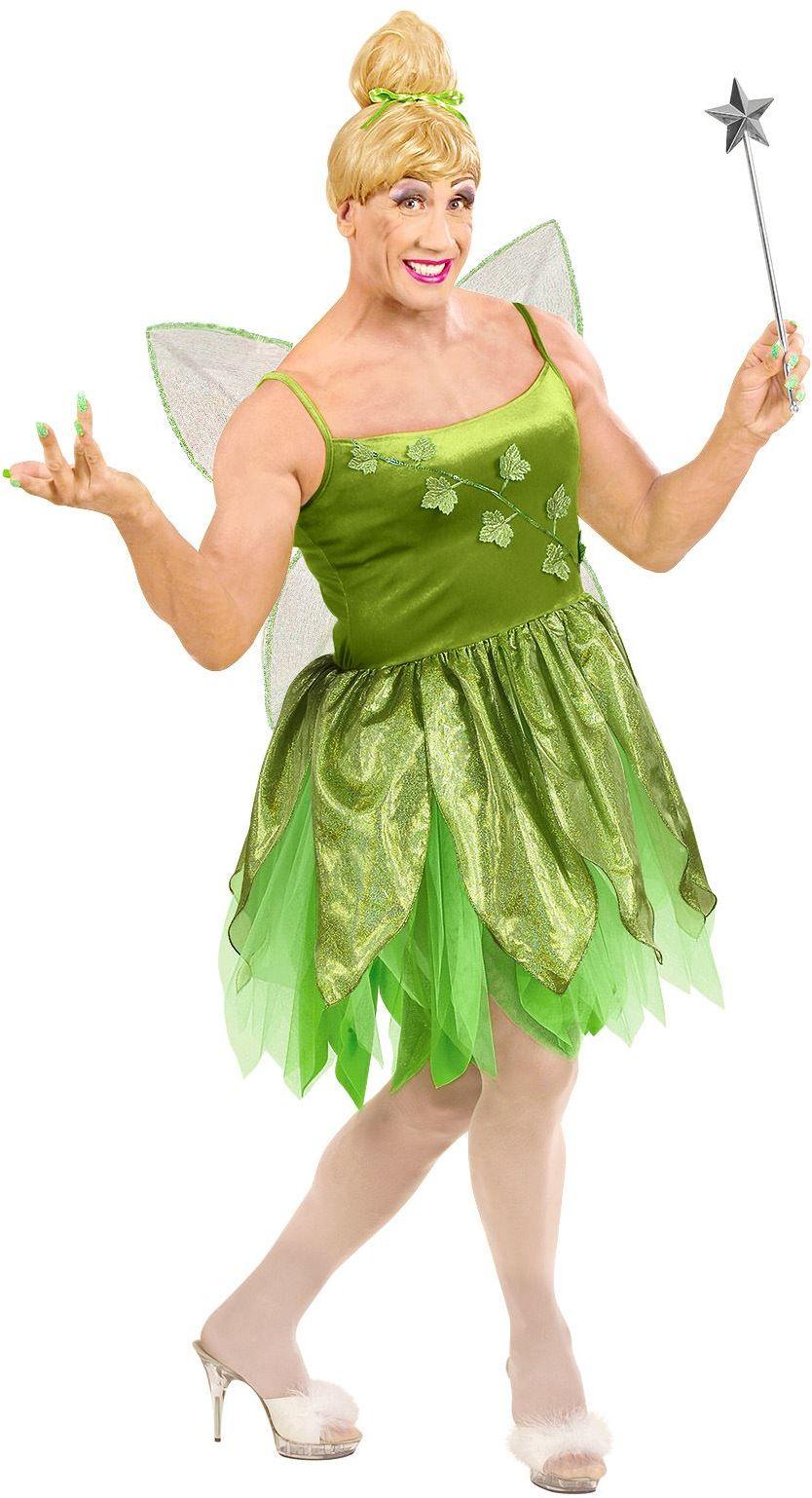 Mannelijke bosfee jurk