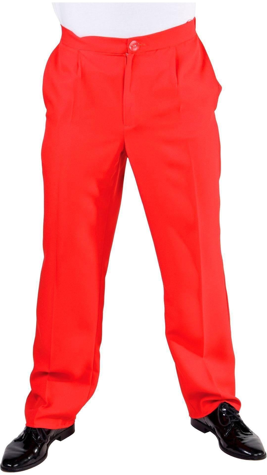 Mannen broek rood