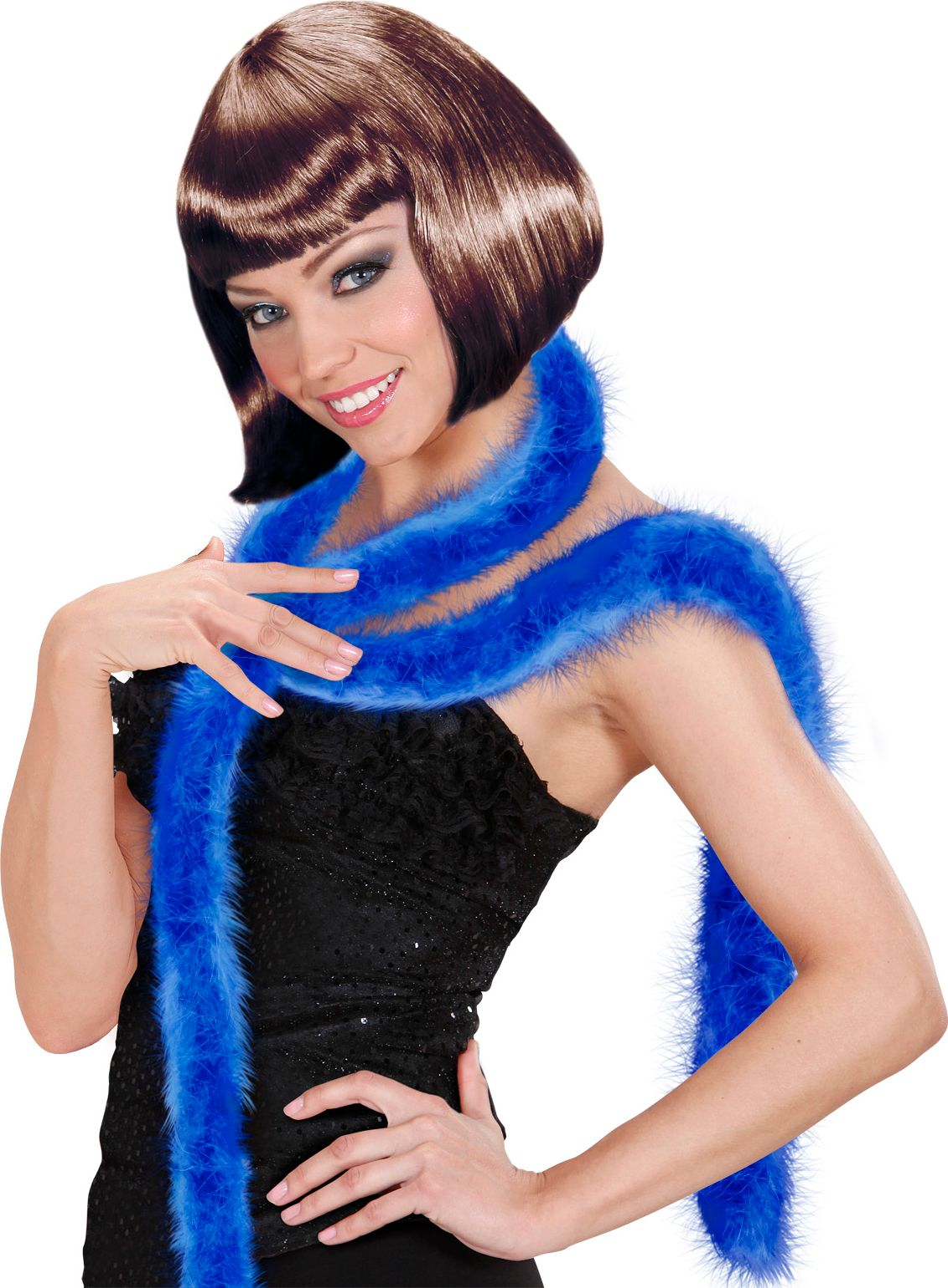 Marabou boa blauw