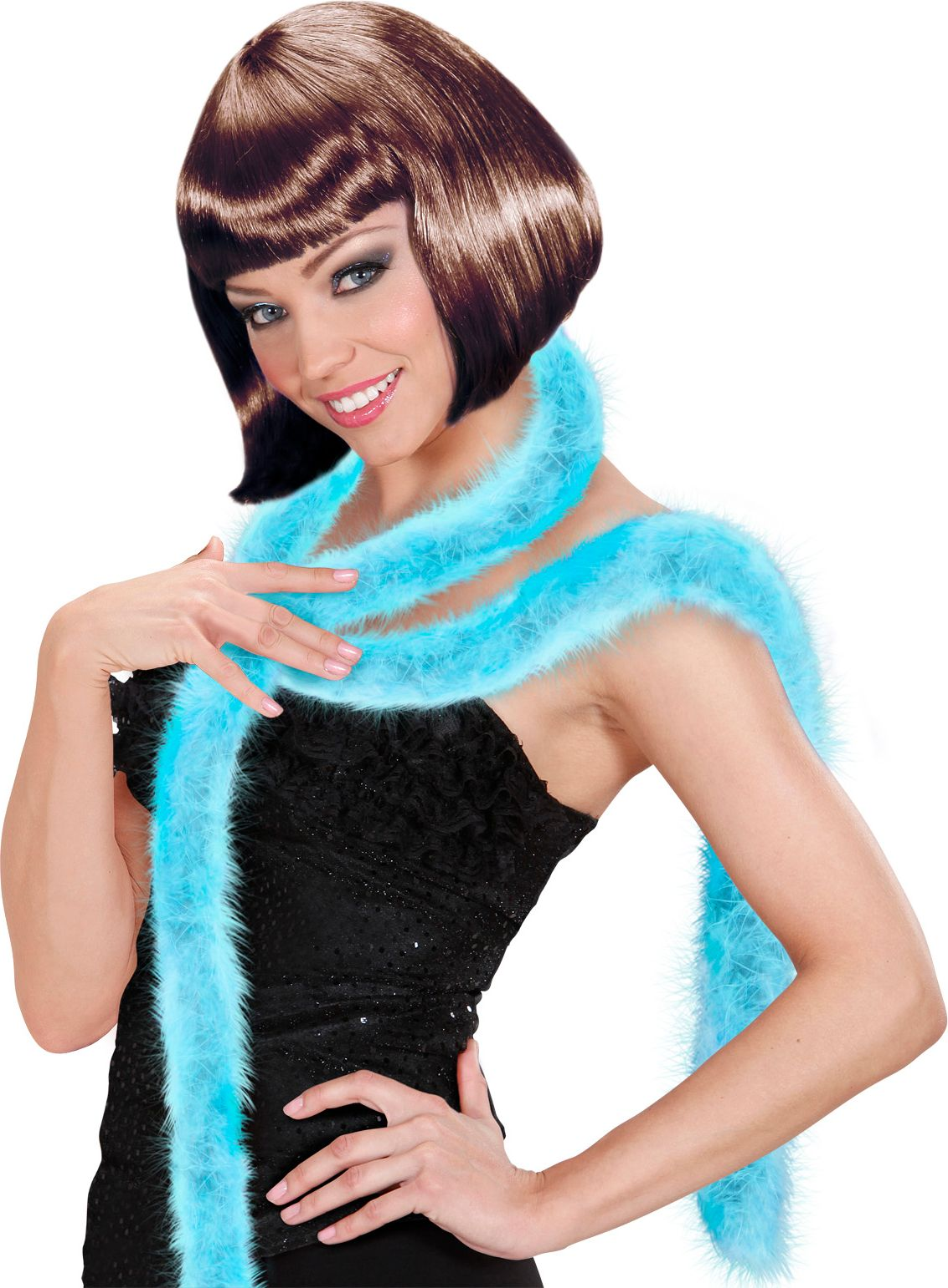 Marabou boa lichtblauw