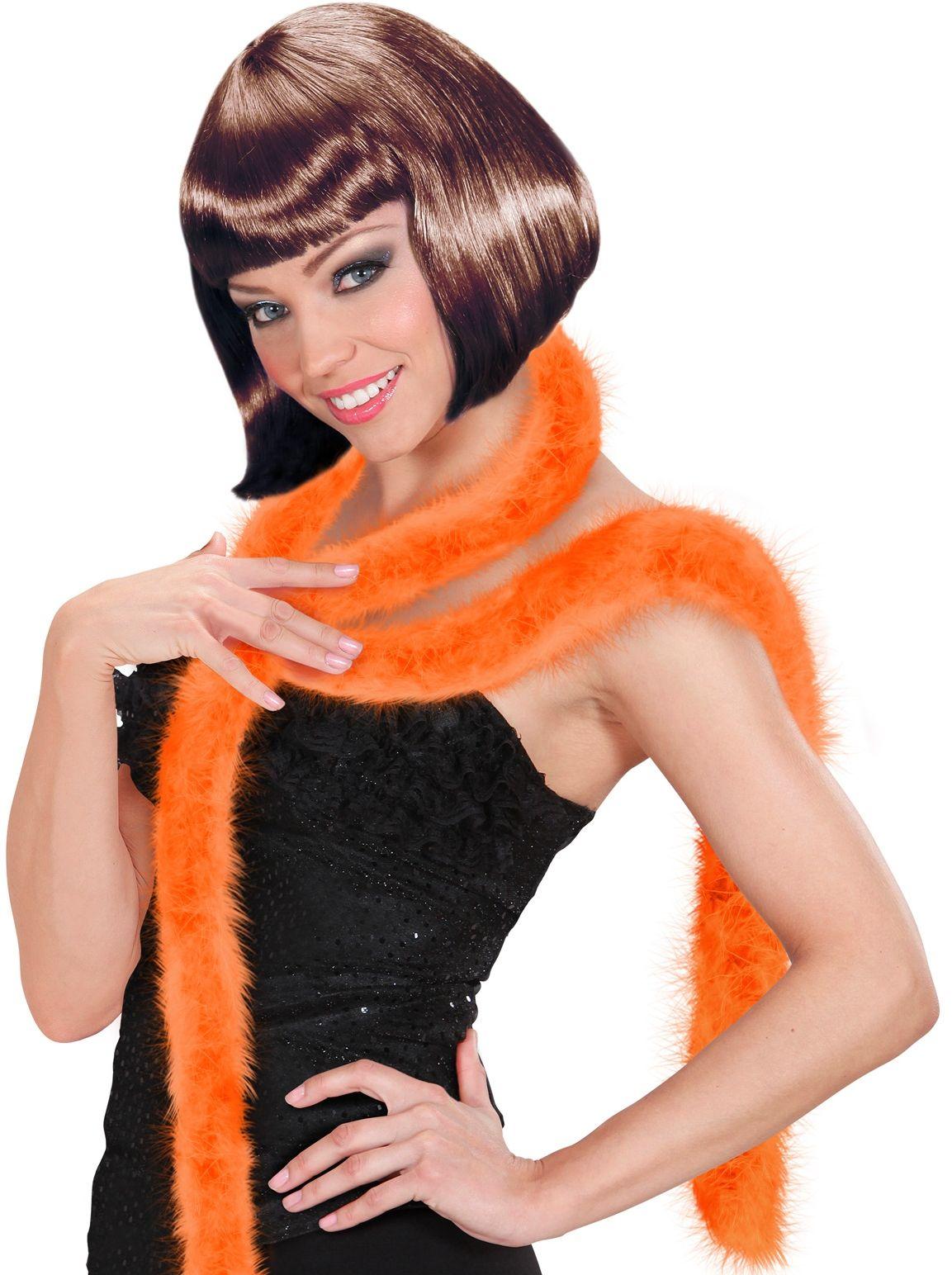 Marabou boa oranje