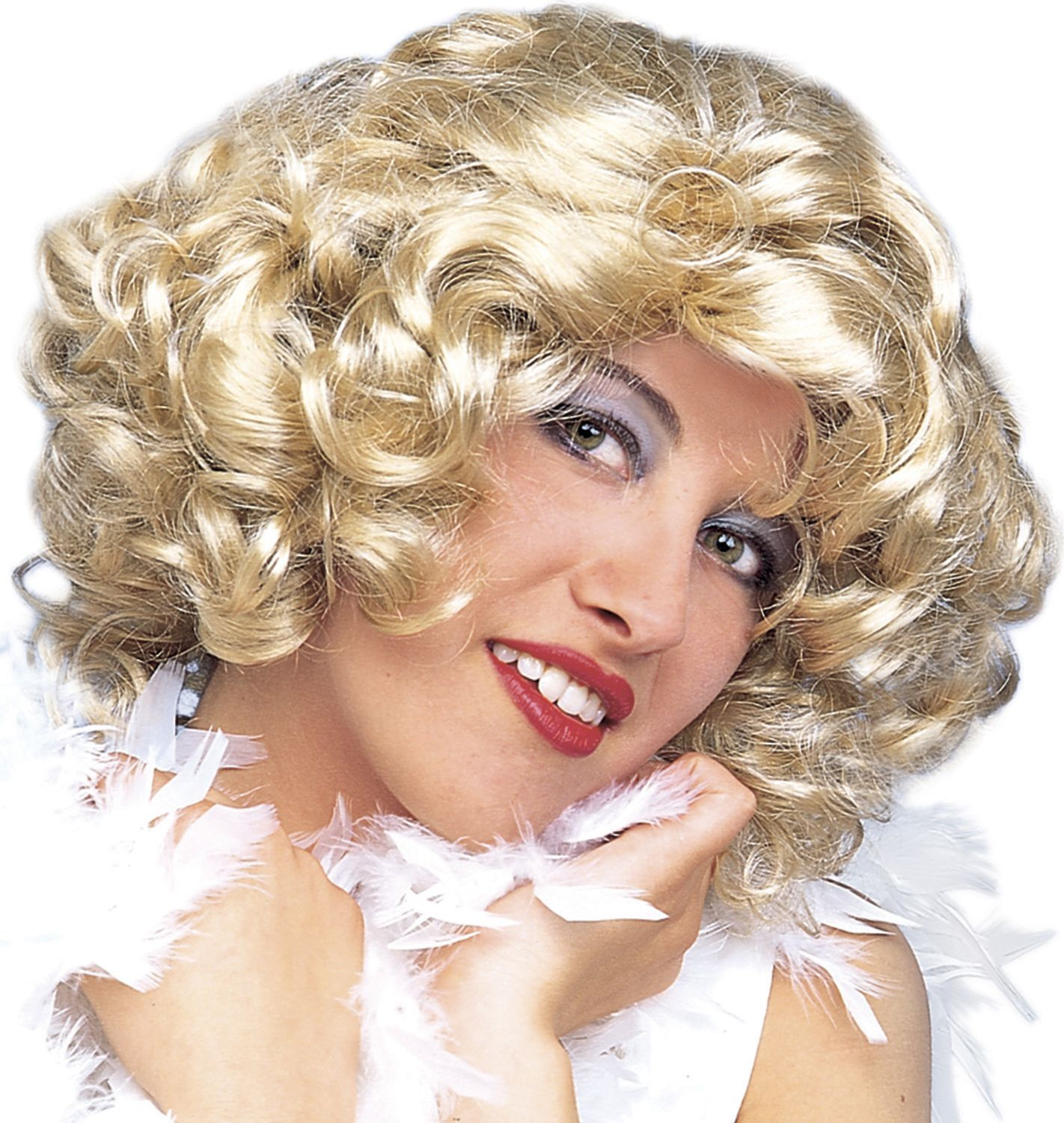 Marilyn blonde pruik