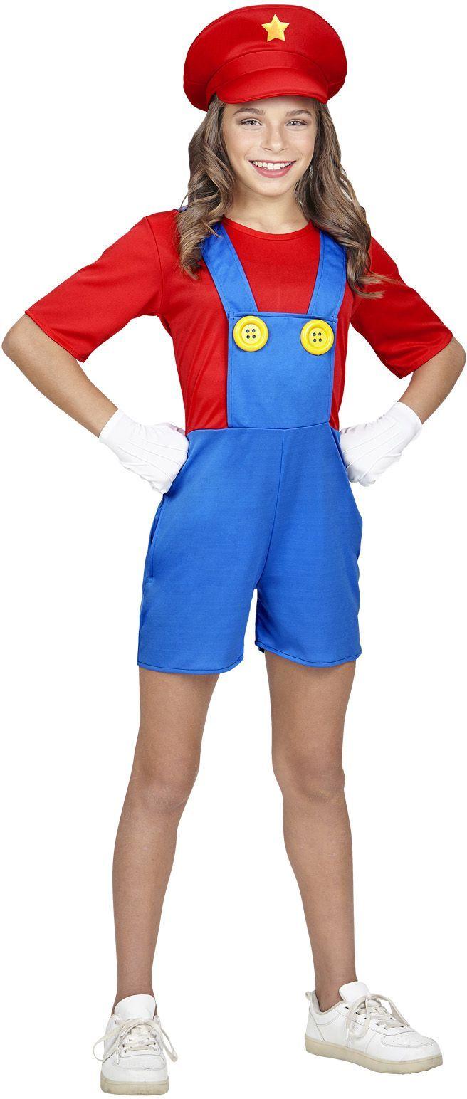 Mario kostuum meisjes