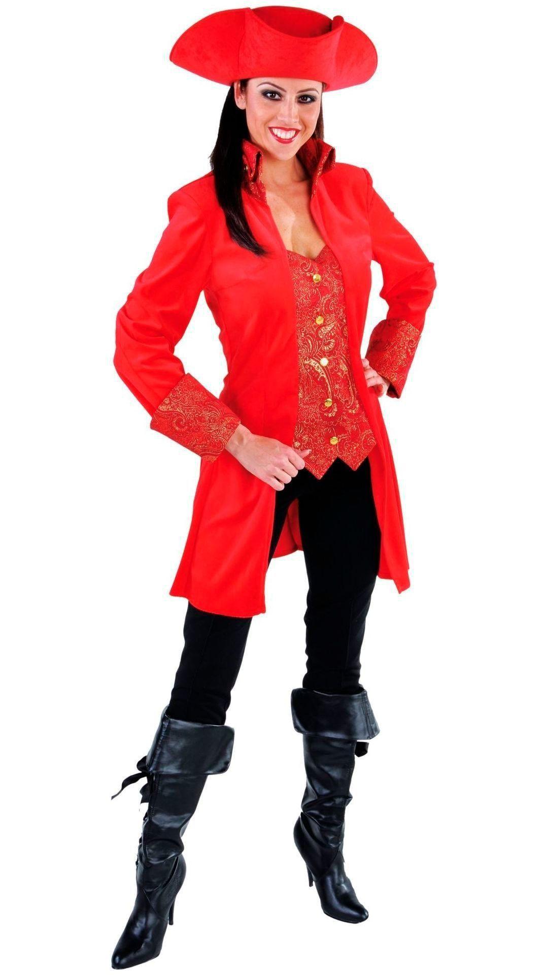 Markiezin jasje rood vrouwen
