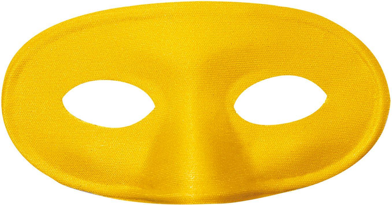 Mascherina oogmasker geel