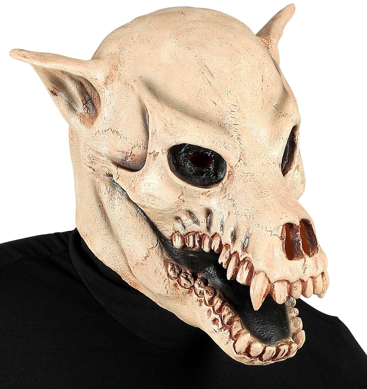 Masker honden schedel Halloween