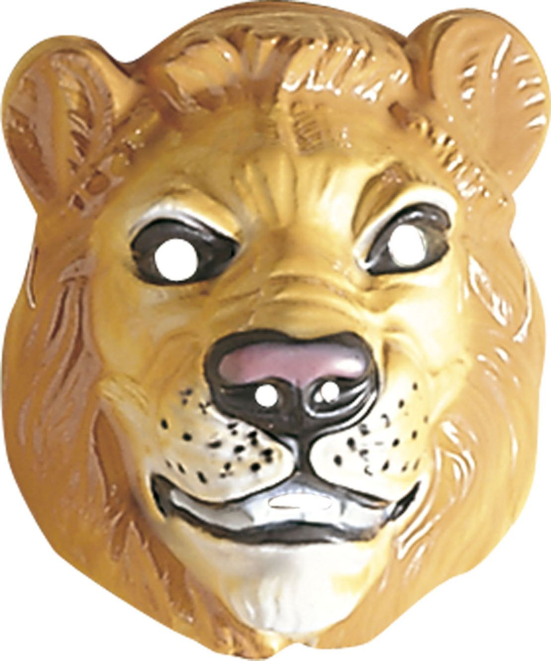 Masker leeuw plastic