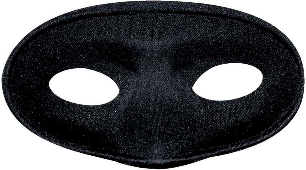 Maskerade oogmasker zwart