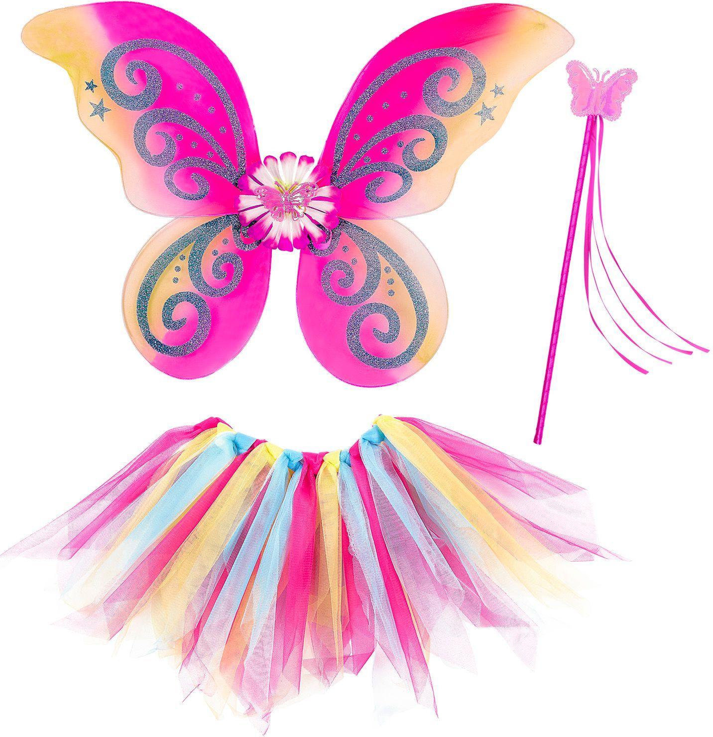 Meerkleurige feeën set