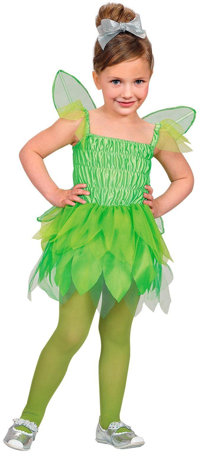 Meisjes feeen jurk groen