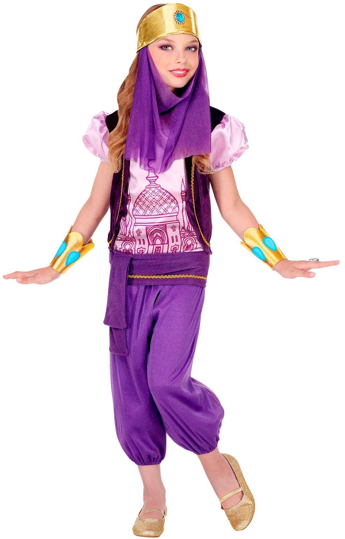 Meisjes prinses outfit Arabië
