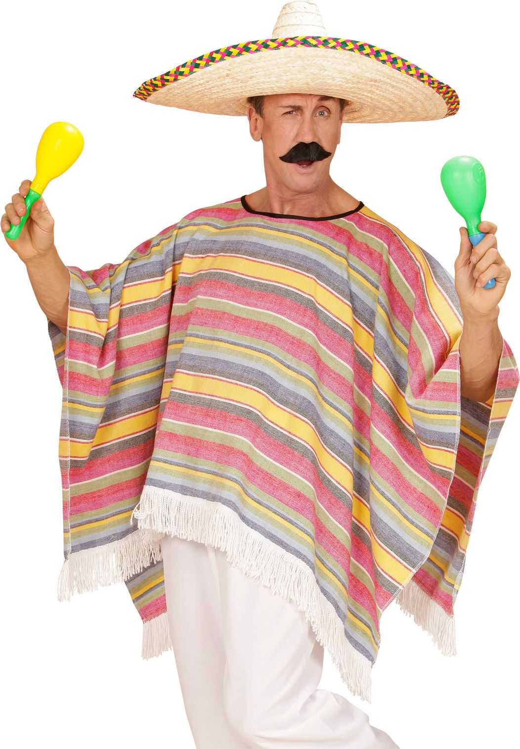 Mexicaanse carnaval poncho